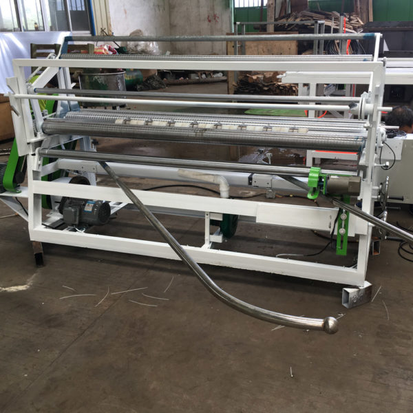 CRA-500 Bias Fabric Cutting And Rolling Machine For Airway Buffing Wheel