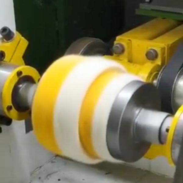 Automatic Edge Fuzzing Raising Machine for Fabric Sisal Jewlery Buffing Wheel
