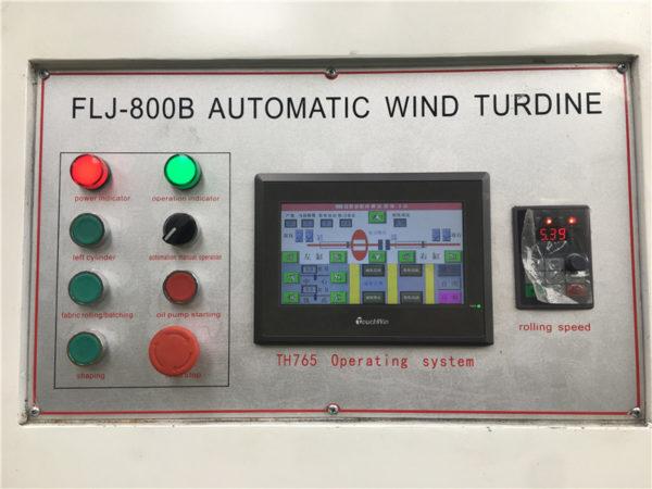 CRA-800 Machine for Making Bias Airway Buffing Polishing Wheel for Aluminum