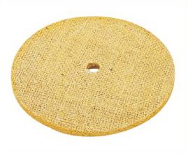 Oil Sisal Polishing Wheel For Bench Grinder
