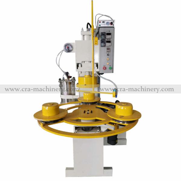 fabric pleated buffs machine